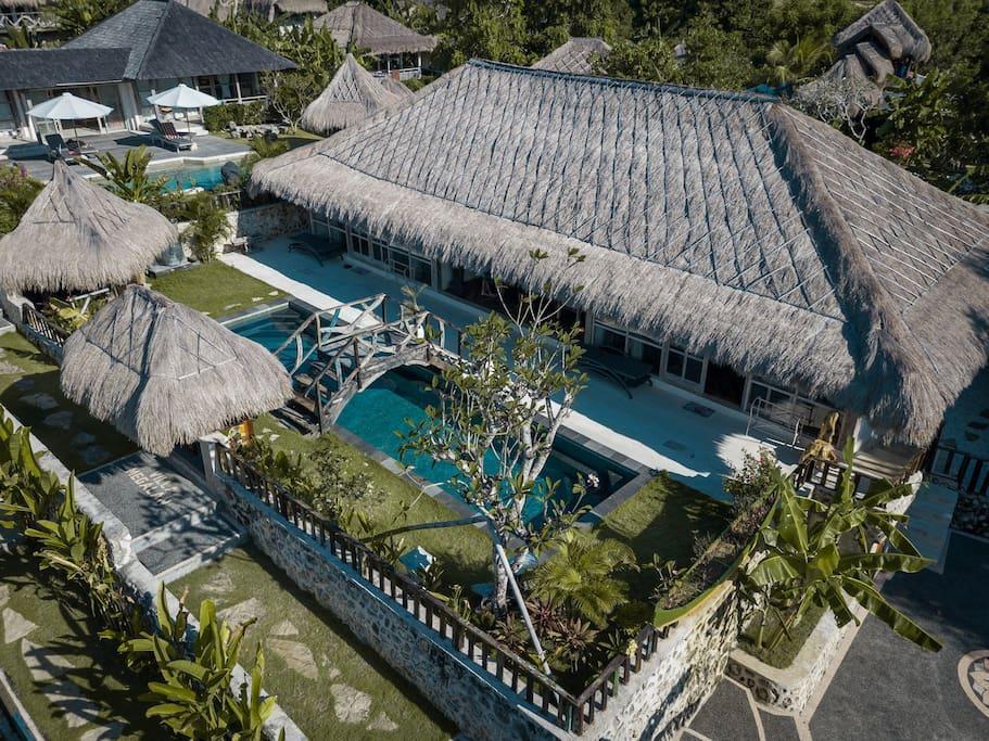 Review Villa 5 minute to famous Balangan beach