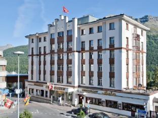 Schweizerhof Swiss Quality Hotel Saint Moritz - Bahagian Luar Hotel