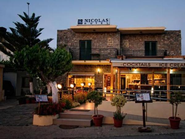 Nicolas Hotel Crete Island