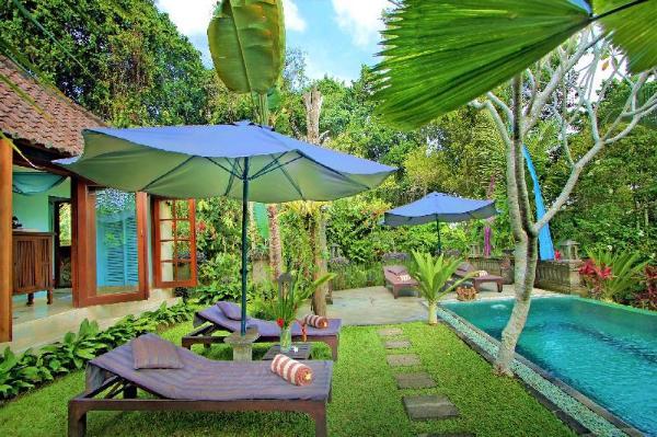 1 Br Romantic Villa With Valley View Near Ubud Ubud Bali