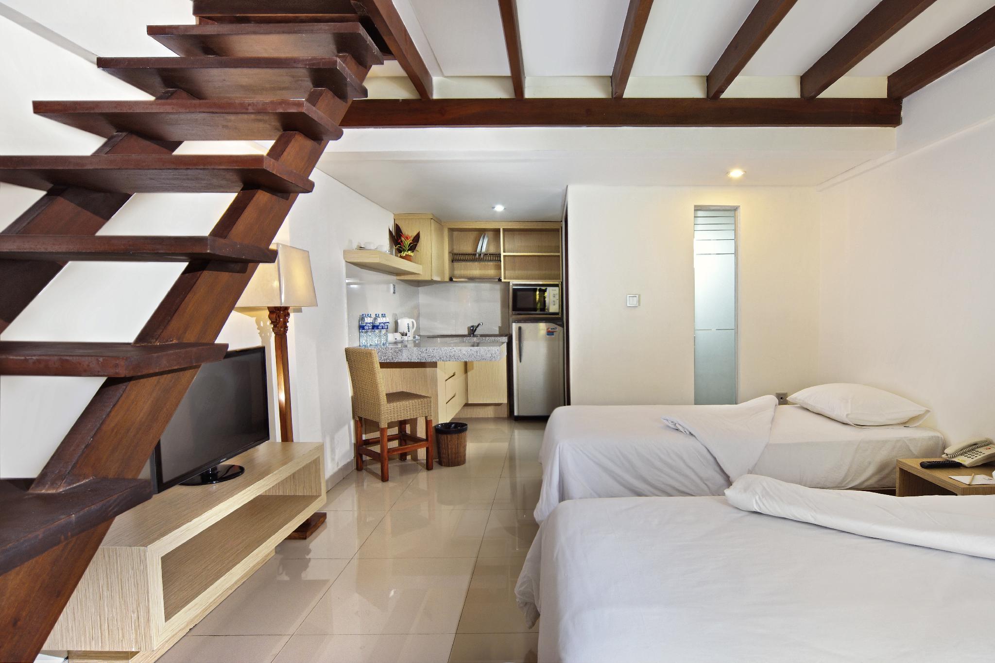 Family Apartment For 4 Adult  Legian  Kuta