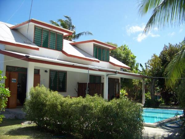 Pension Chalet Tipanier Huahine Island