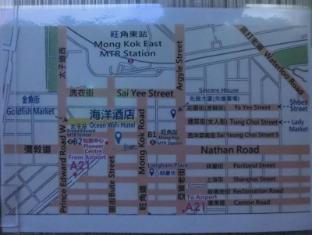 Ocean WiFi Hotel Hong Kong - Map