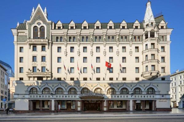 Moscow Marriott Royal Aurora Hotel Moscow