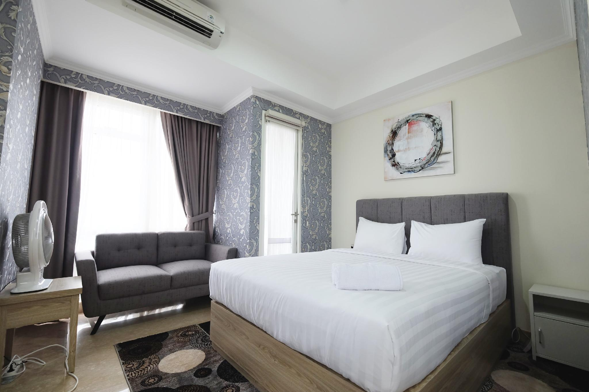 Big Studio Menteng Park Apartment By Travelio