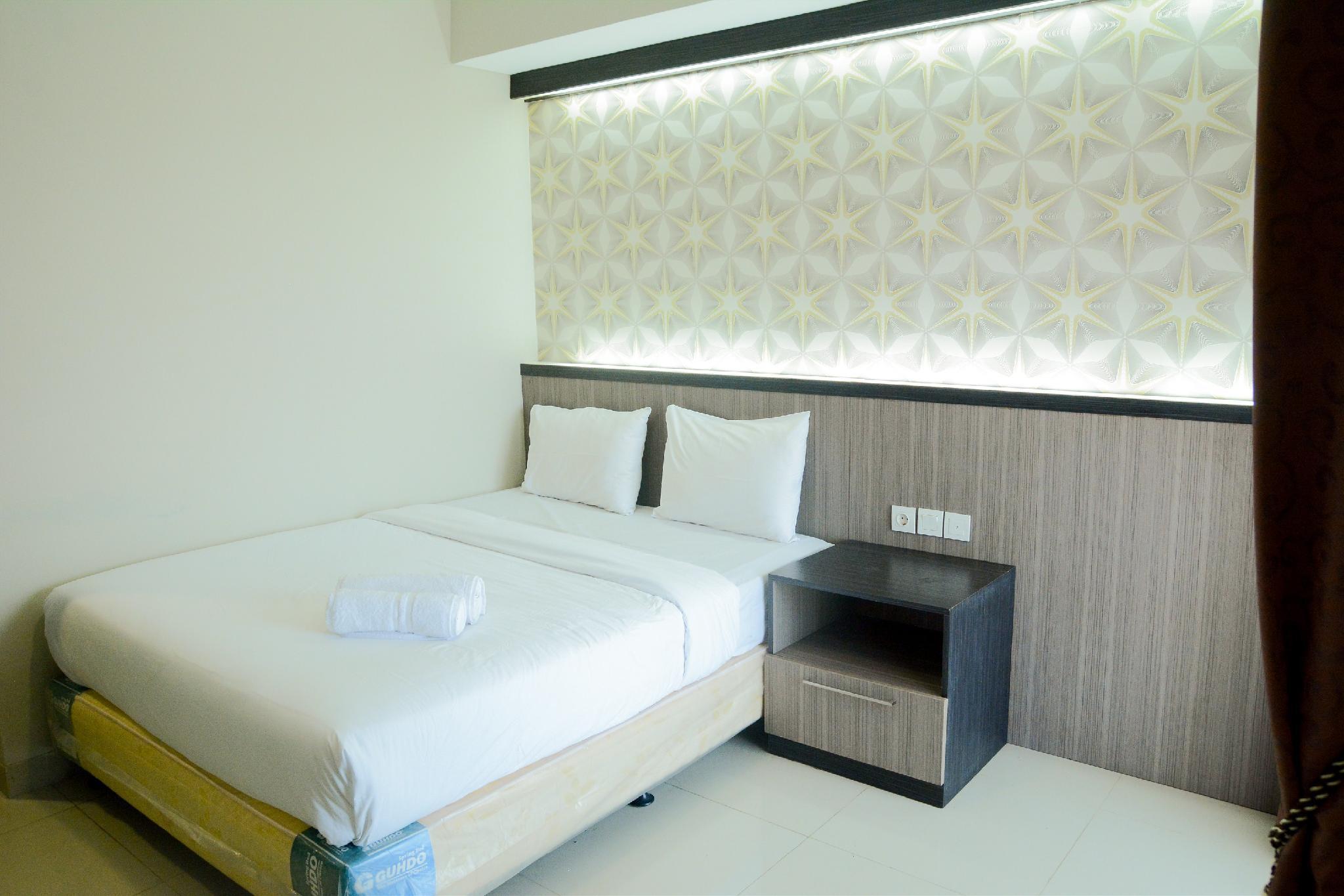 Studio Room Atria Residence Apartment By Travelio