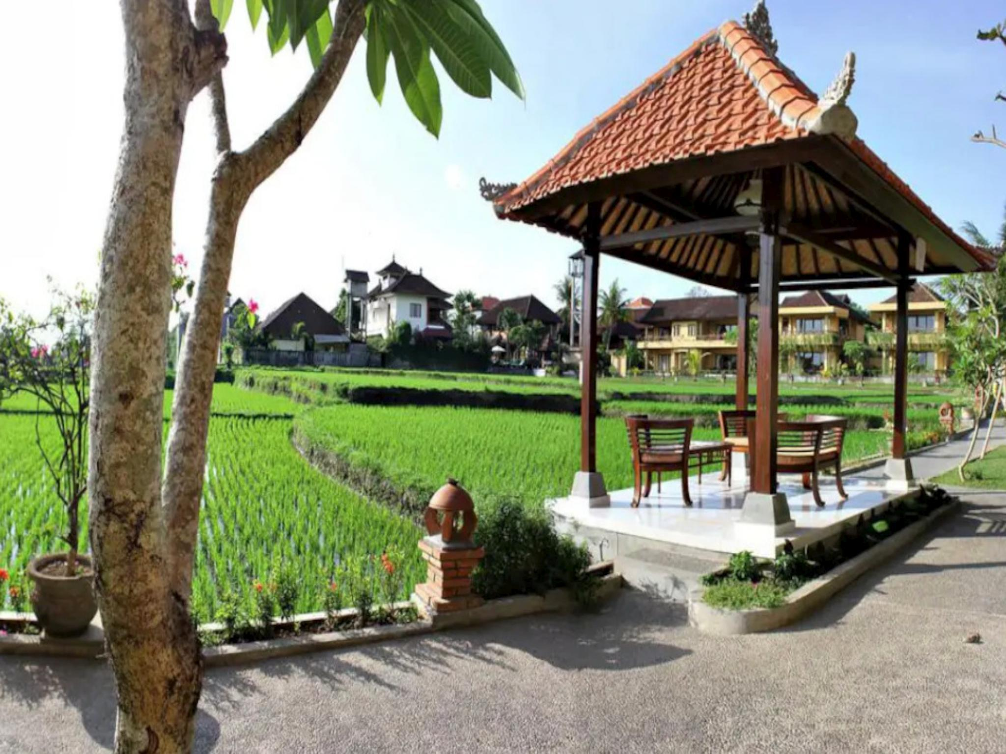 116 Suite Room Rice Field View At Ubud Center