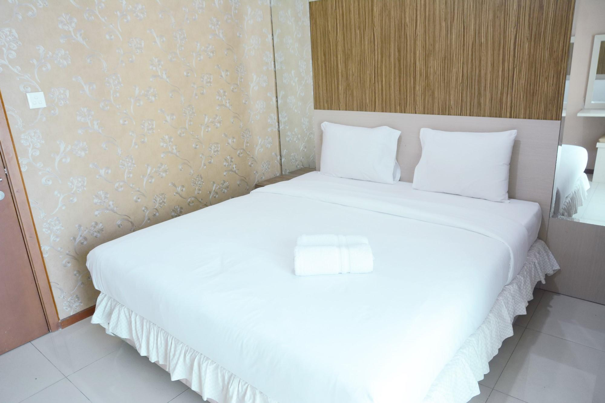 Affordable 1BR Thamrin Residence Apt By Travelio