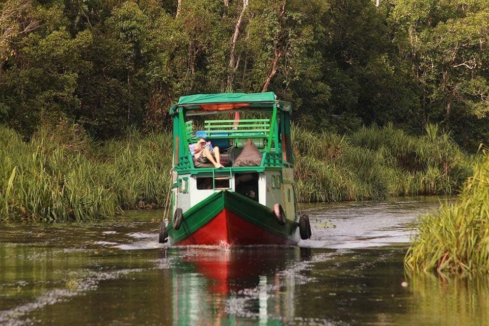 Houseboat Orang Utan Cruise