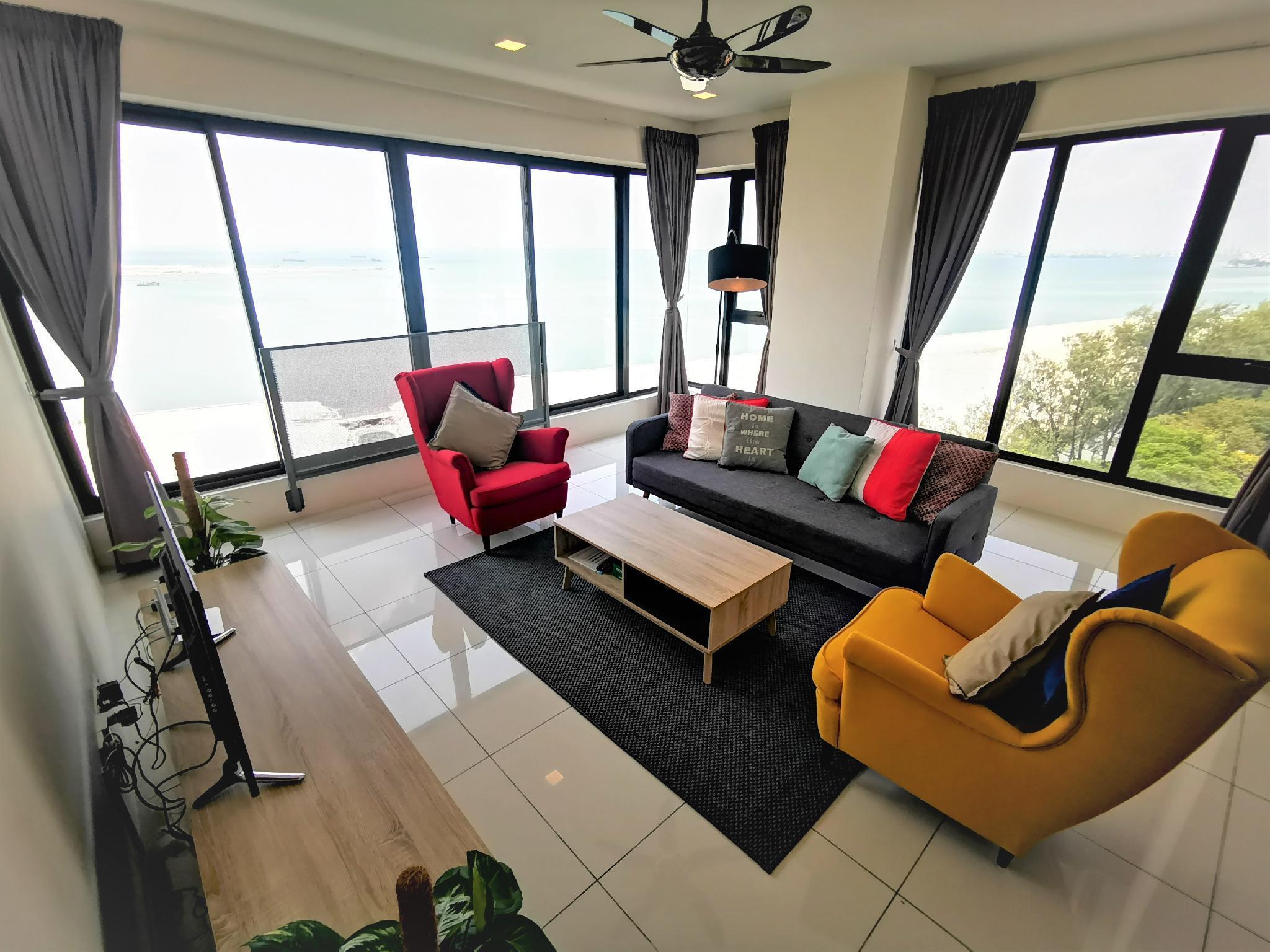 180 Degree Seaview Suite @Sunrise Gurney