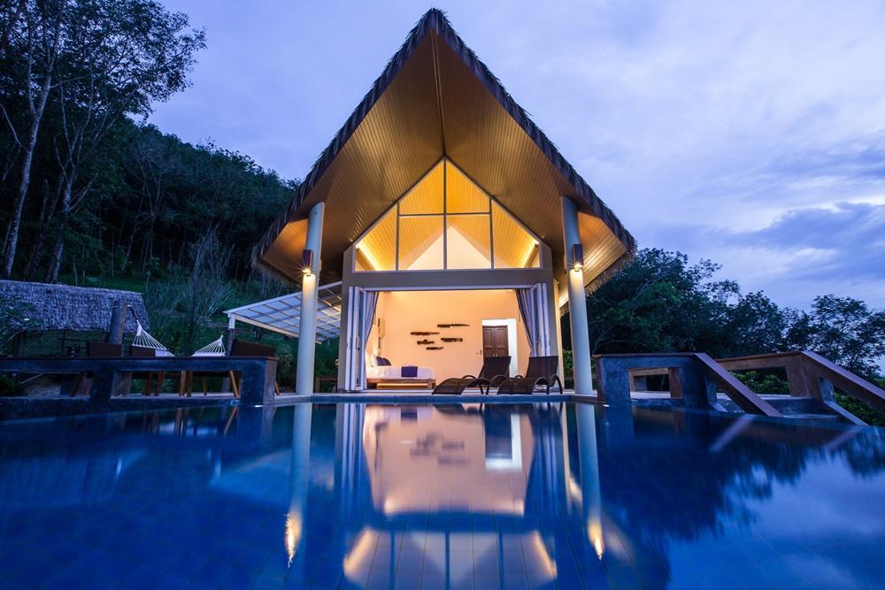 Purana Resort Koh Yao Noi Pool Villa Top View 1