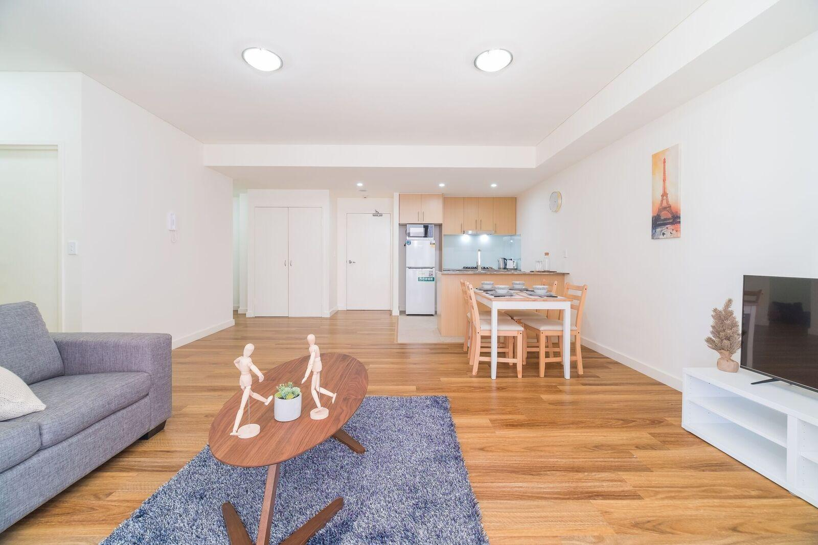 Wolli Creek Airport Serviced 2 Bedroom Apartment