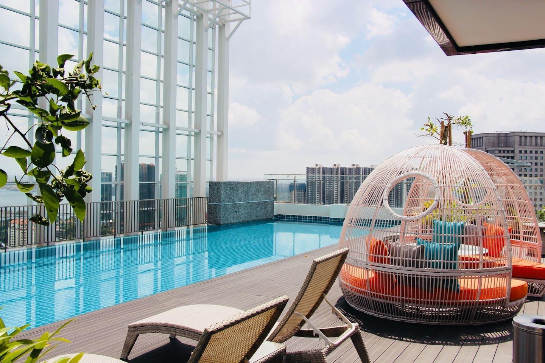 A Cozy Suasana Suites 1303 In Johor Bahru + WiFi