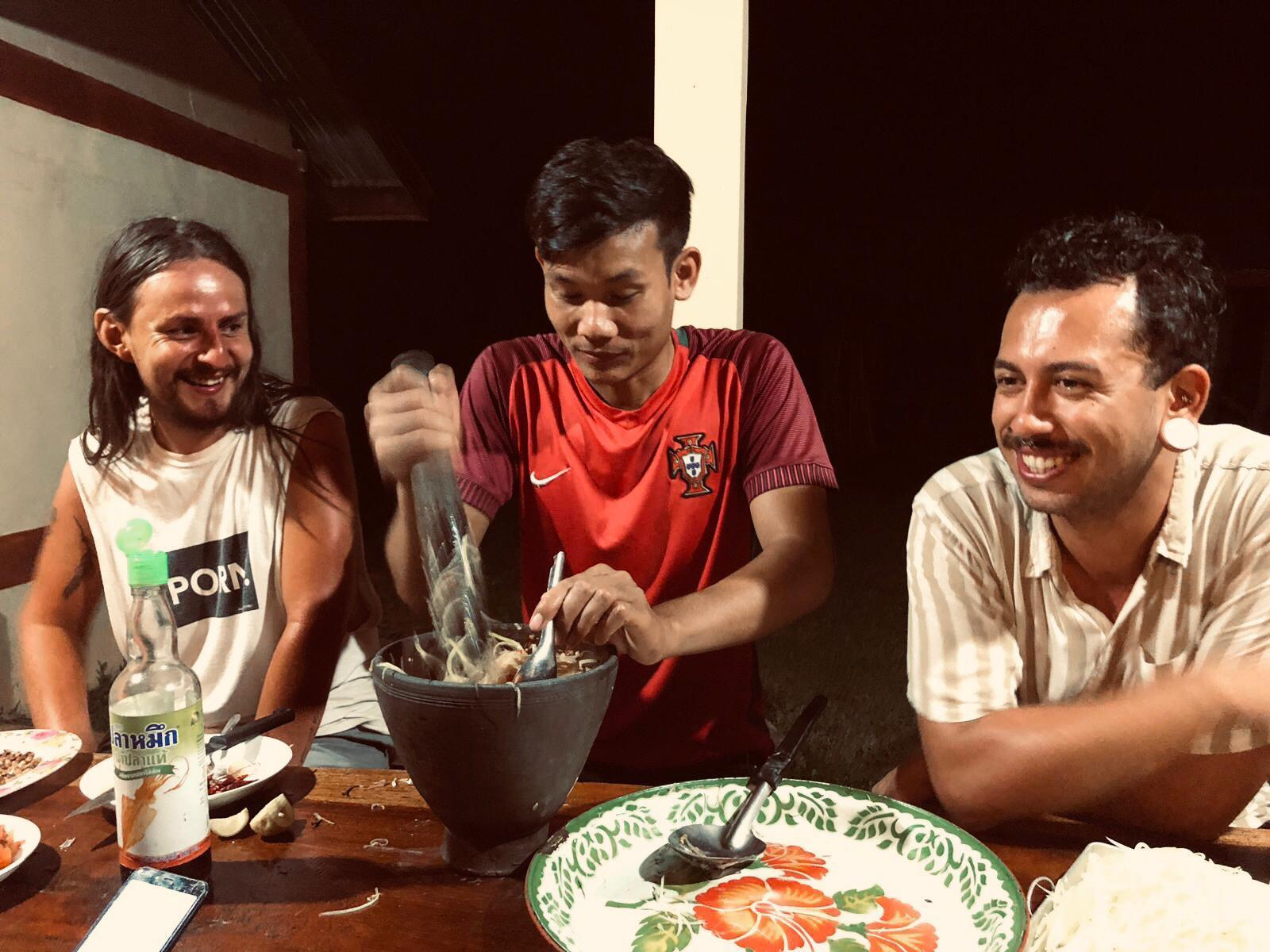 Phonpet Homestay Experience With Lao Local Family