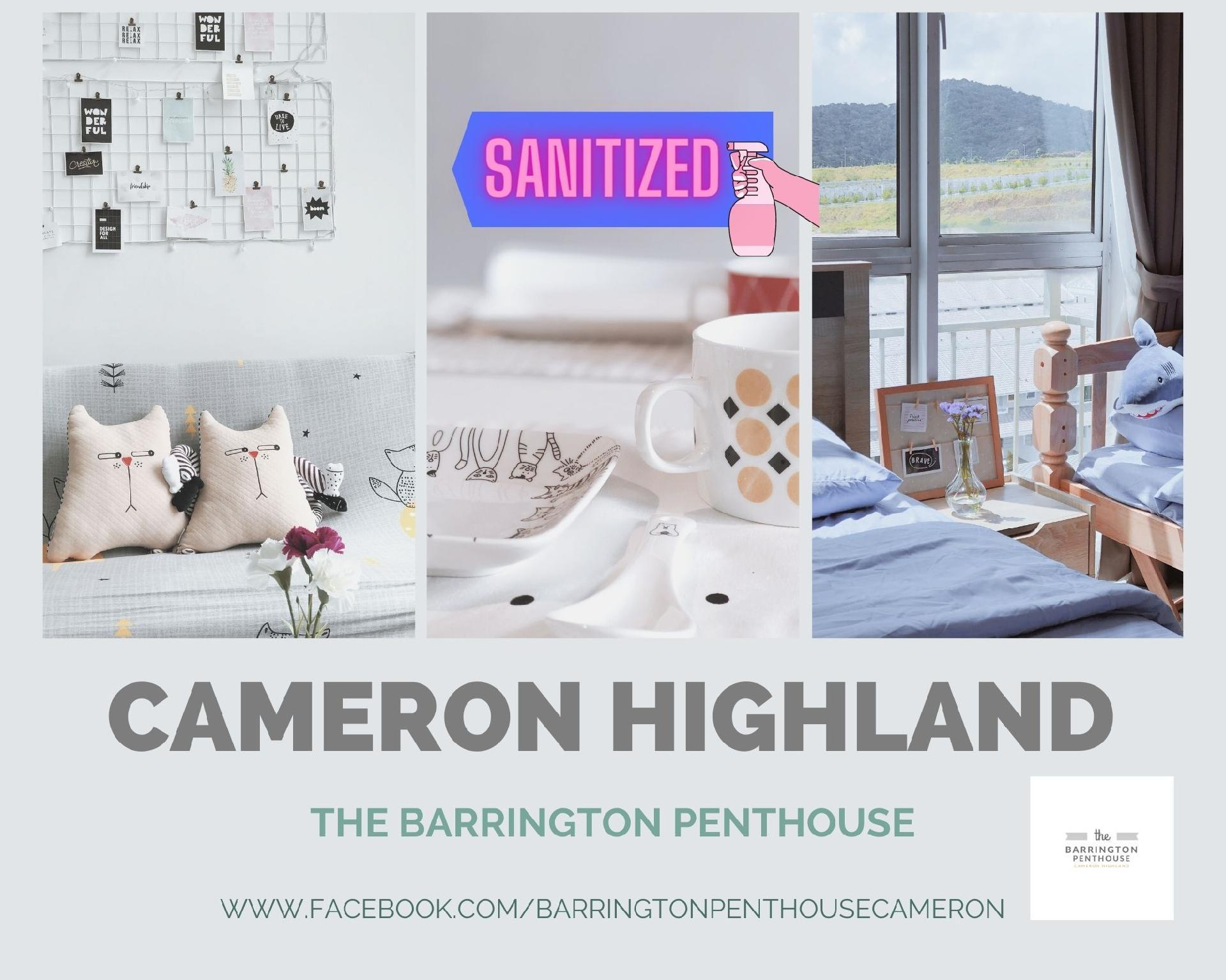 3BR The Barrington Penthouse@Cameron#Night Market