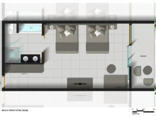 Sonaisali Island Resort Nadi - Floor plans