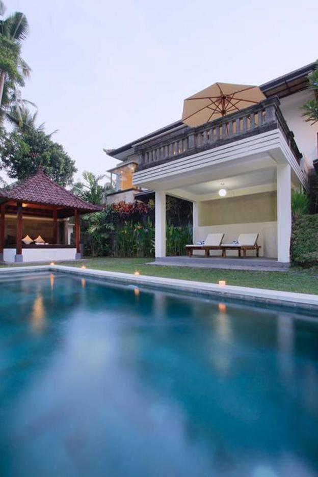 Casa Priya Ubud with Rice field and Junggle view