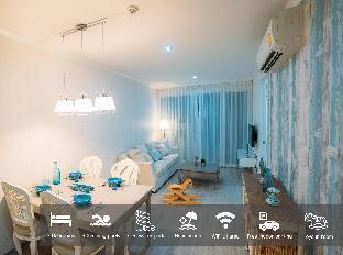 [カオタキアブ]アパートメント(66m2)| 3ベッドルーム/2バスルーム My resort Hua Hin room D105 with free water park