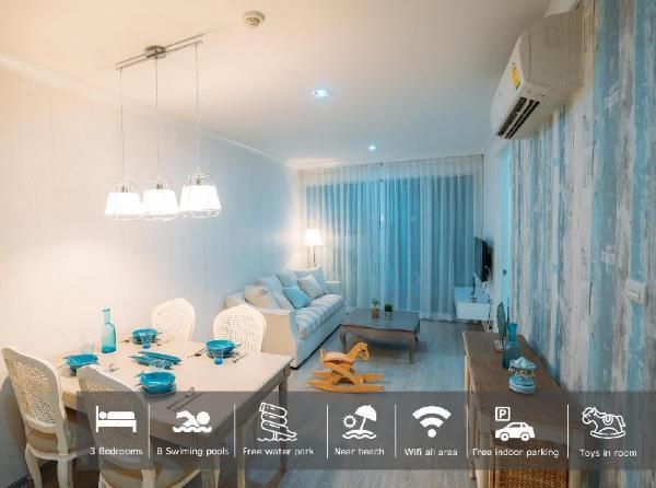 My resort Hua Hin room D105 with free water park Hua Hin