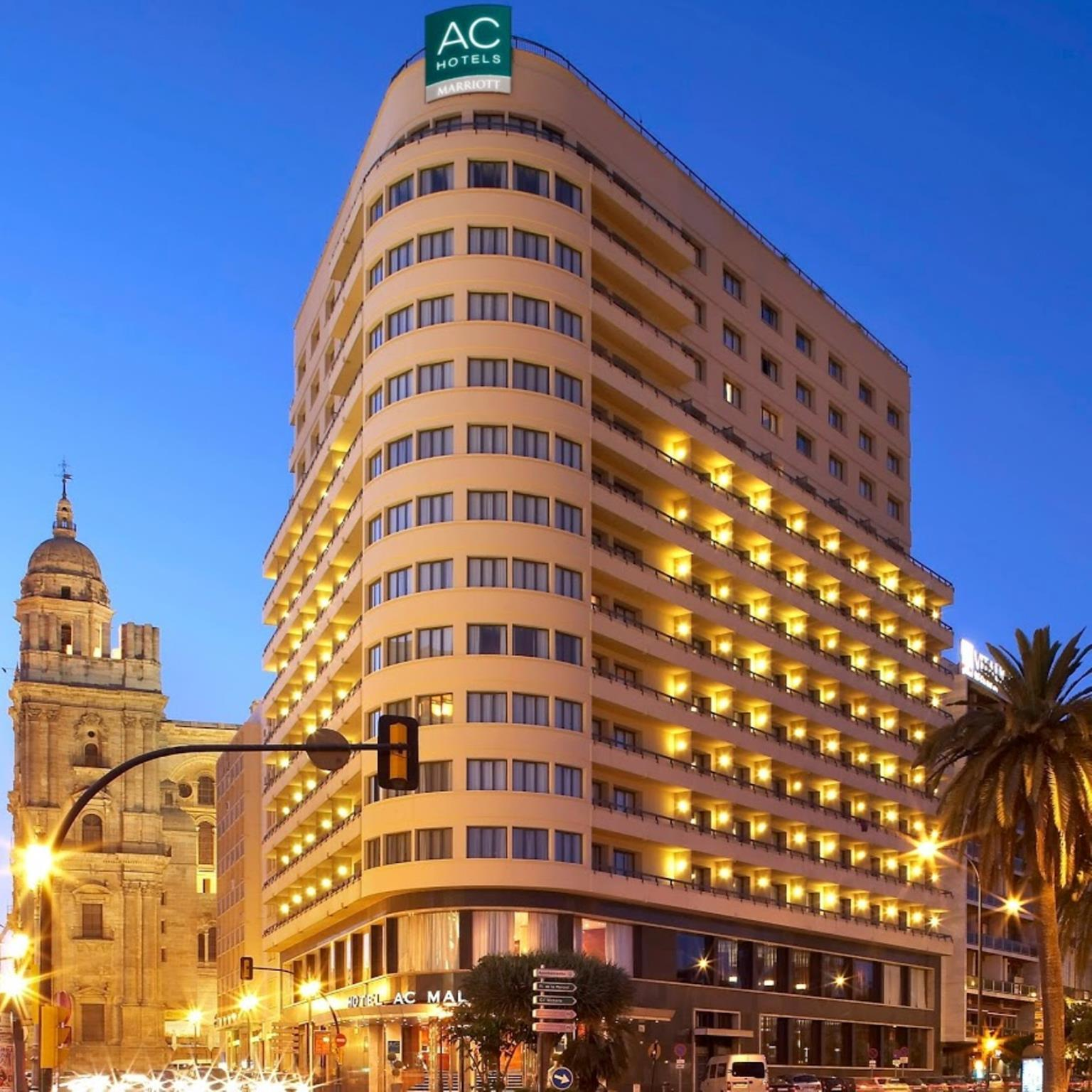 Ac hotel malaga palacio by marriott in spain europe for Hotels malaga