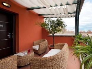 Fiume Hotel Rome - Balcony/Terrace