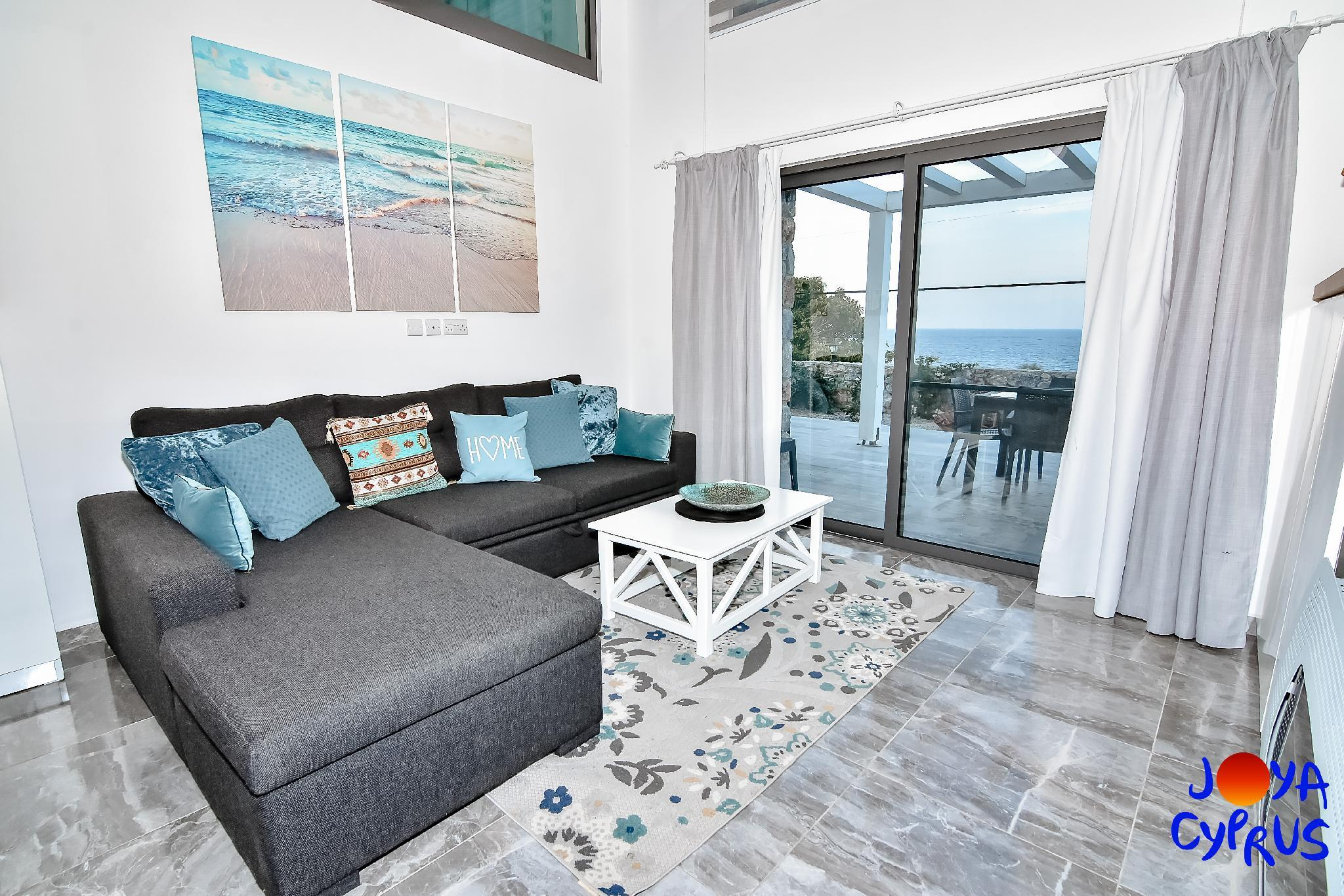 Joya Cyprus Sea View Garden Apartment