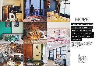 [スクンビット]アパートメント(32m2)| 1ベッドルーム/1バスルーム 【hiii】Charming Studio With Free SkyPool&Gym-BKK079