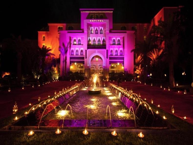 Sofitel Marrakech Lounge And Spa Hotel