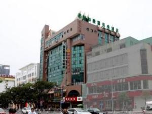 GreenTree Inn Guangxi Yulin Jincheng Commercial Building Shell Hotel