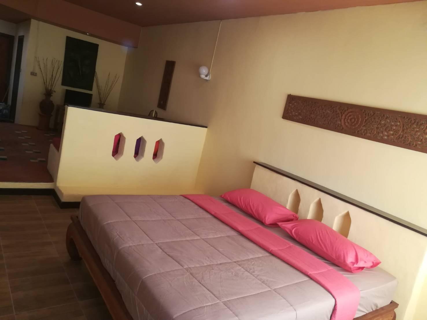 Thai style Room อพาร์ตเมนต์ 1 ห้องนอน 1 ห้องน้ำส่วนตัว ขนาด 40 ตร.ม. – ห้วยแก้ว