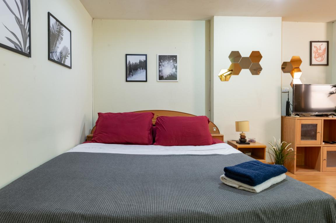 NICE CONDO IN CENTER BANGKOK อพาร์ตเมนต์ 1 ห้องนอน 1 ห้องน้ำส่วนตัว ขนาด 25 ตร.ม. – สุขุมวิท