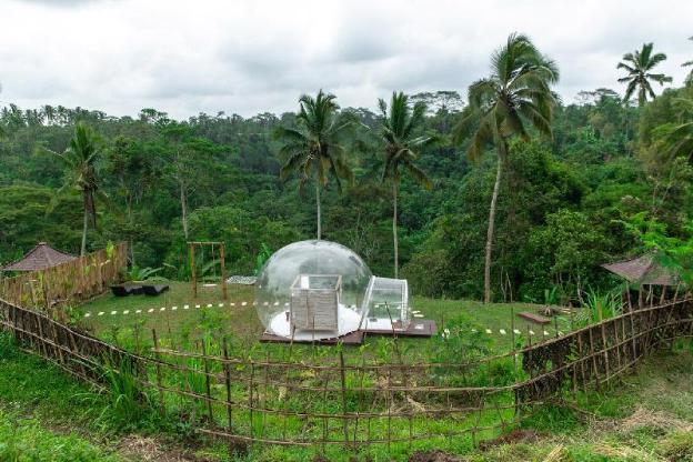 Romantic Bubble Dome Ubud