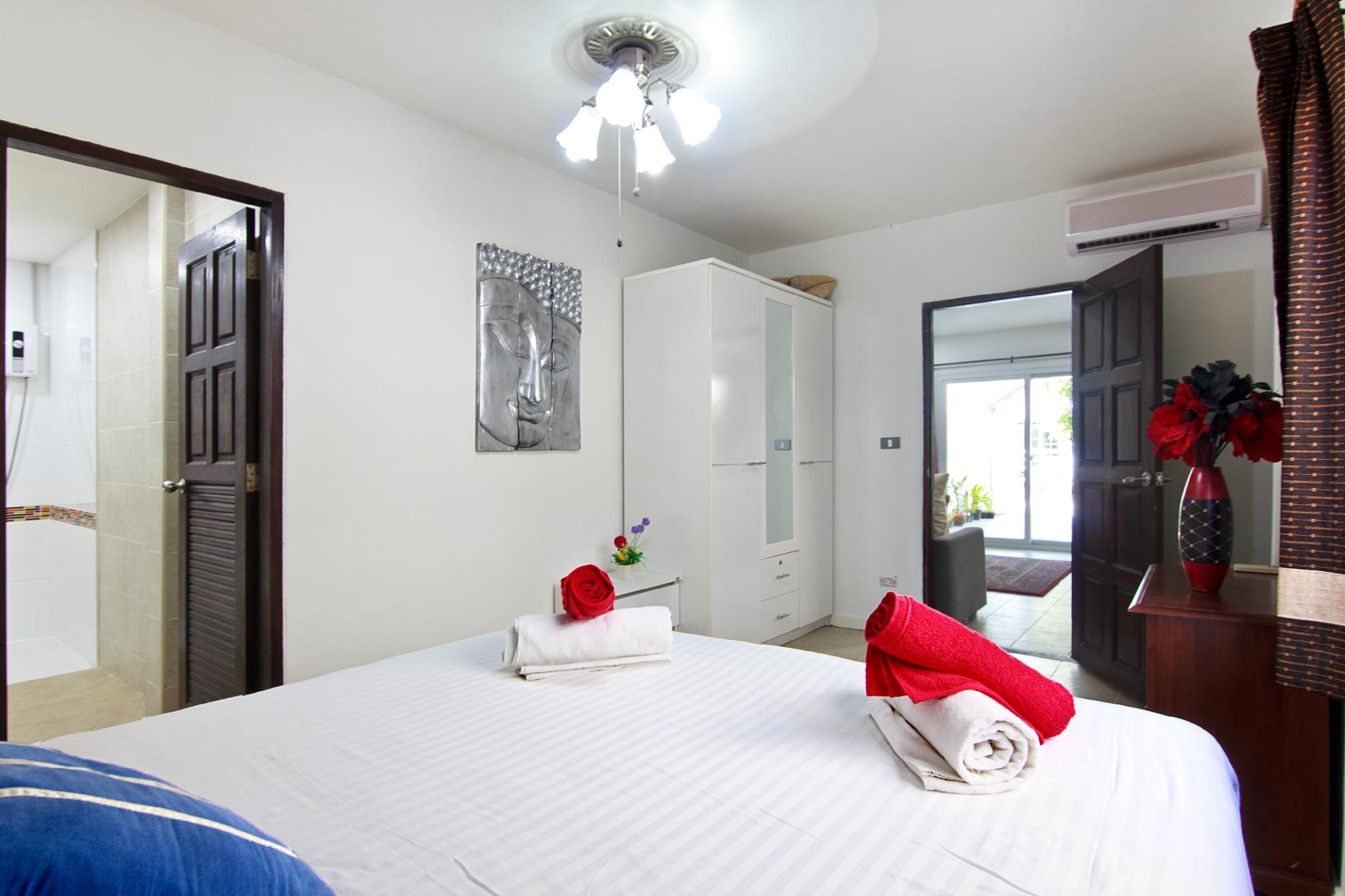 4 Bedroom Private house in Fishermans Village บ้านเดี่ยว 3 ห้องนอน 2 ห้องน้ำส่วนตัว ขนาด 500 ตร.ม. – หาดบ่อผุด