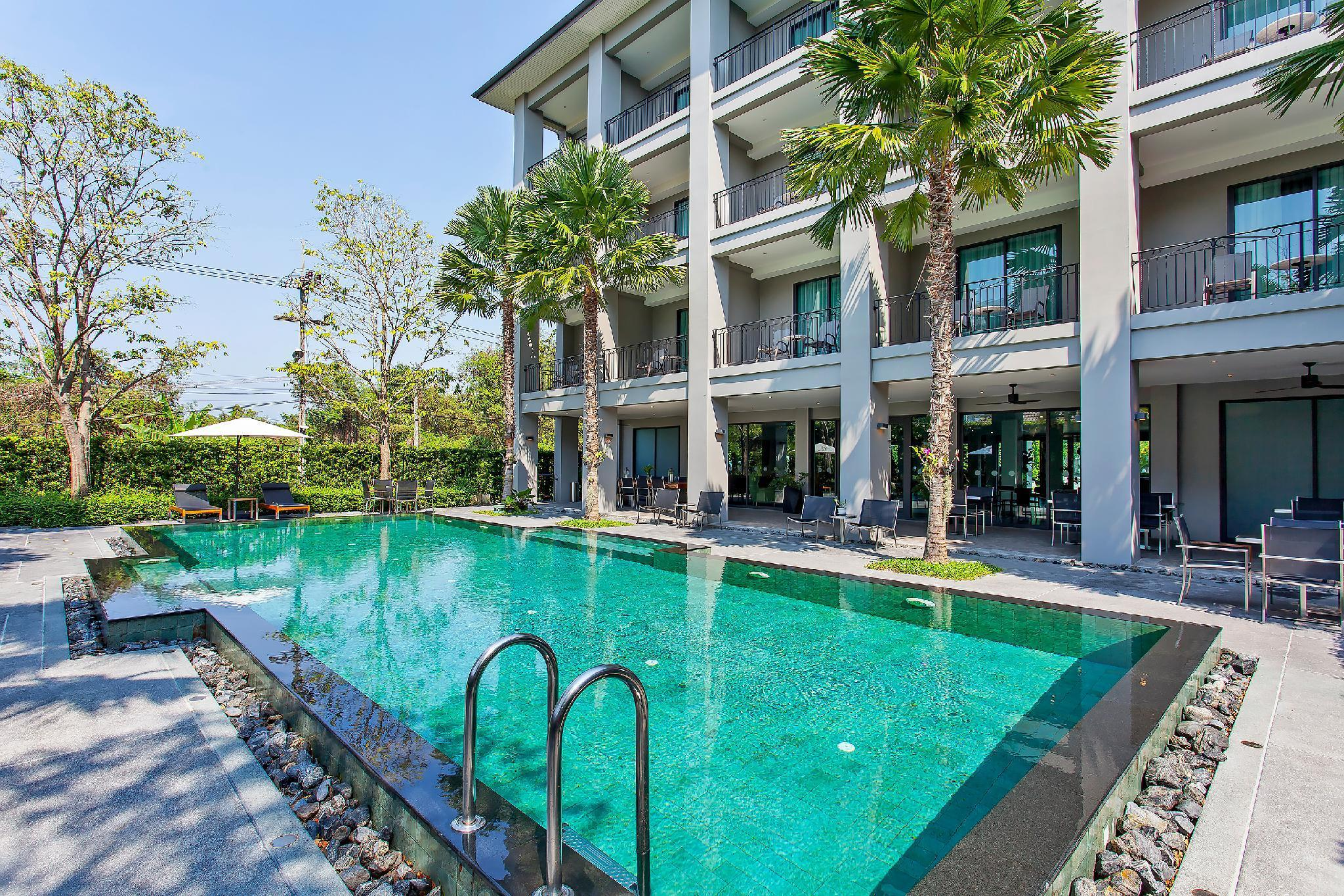 Palm Springs Resort 20BR with Pool 1km to Beach วิลลา 20 ห้องนอน 20 ห้องน้ำส่วนตัว ขนาด 1500 ตร.ม. – หาดจอมเทียน