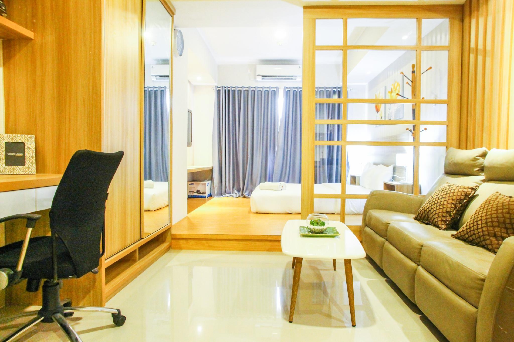 Japanese Style Studio The Oasis Apt By Travelio