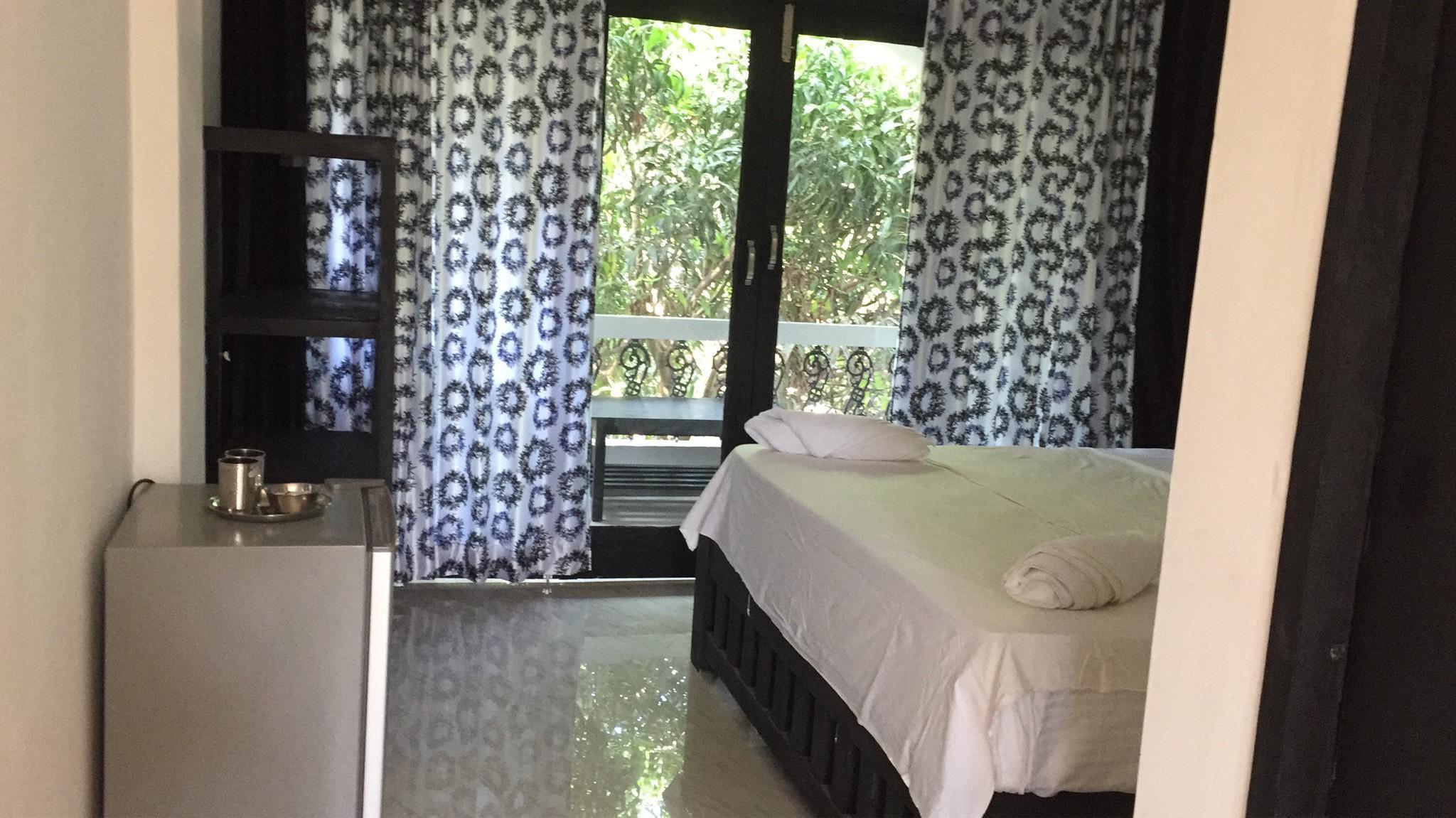 Comfortable AC Rooms In God's Gift Morjim