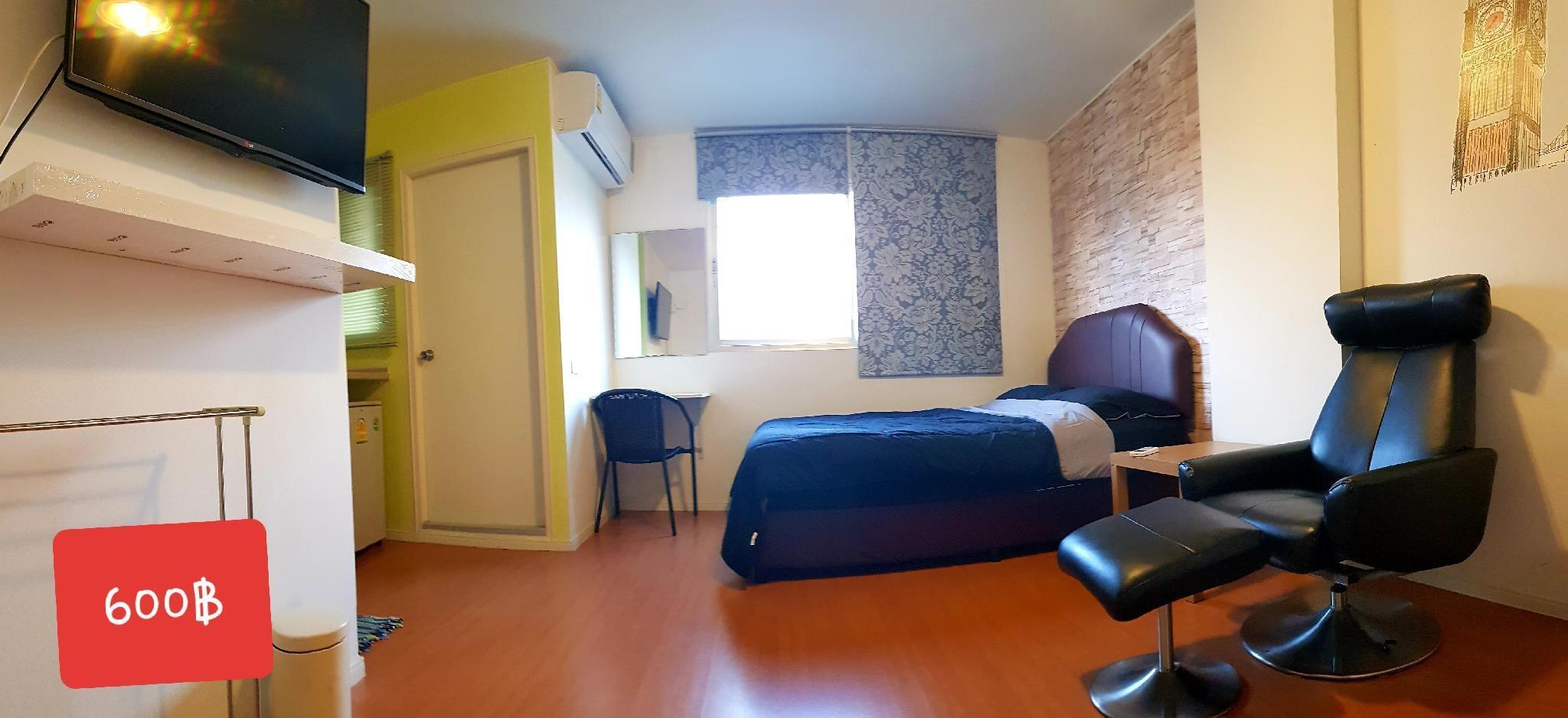 C2 อพาร์ตเมนต์ 1 ห้องนอน 1 ห้องน้ำส่วนตัว ขนาด 28 ตร.ม. – ตัวเมืองชลบุรี