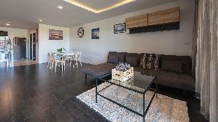[ホアヒン市内中心地]アパートメント(130m2)| 2ベッドルーム/2バスルーム Luxury Apt Palm Hills Golf Club 55 inch TV Netflix