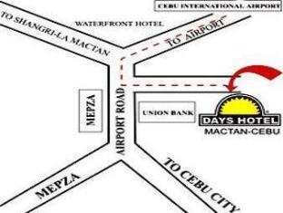 Days Hotel Mactan Island  Mactan Island - Map