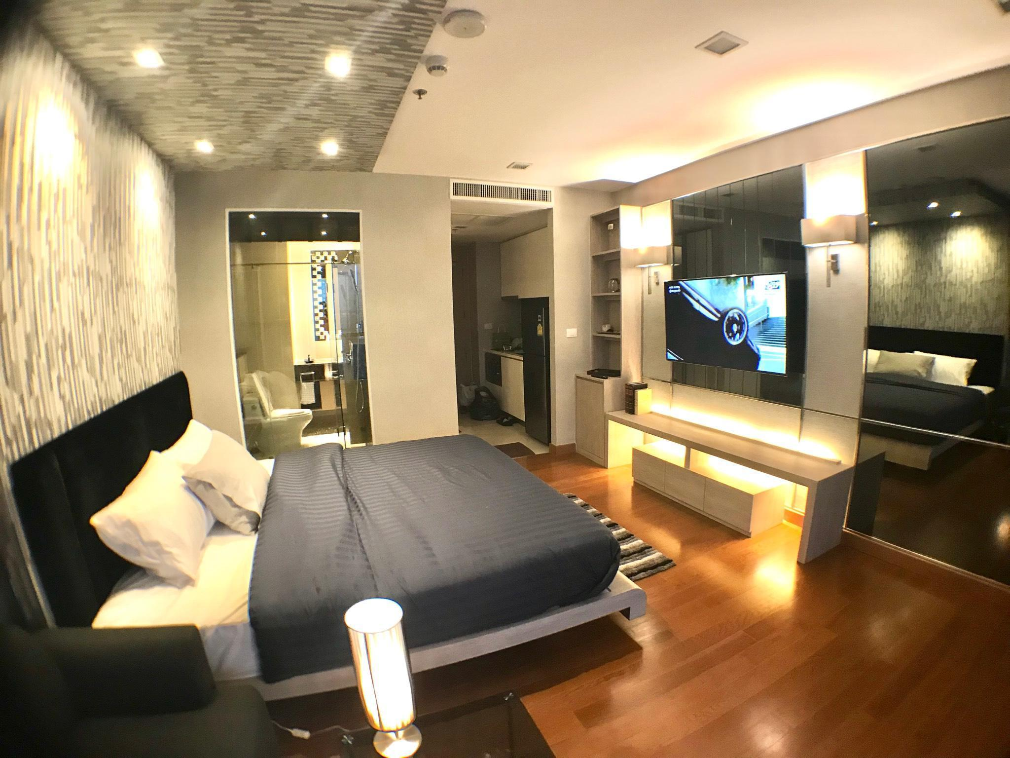 Luxury Apartment on Private Beachfront Pattaya! อพาร์ตเมนต์ 1 ห้องนอน 1 ห้องน้ำส่วนตัว ขนาด 35 ตร.ม. – นาเกลือ/บางละมุง