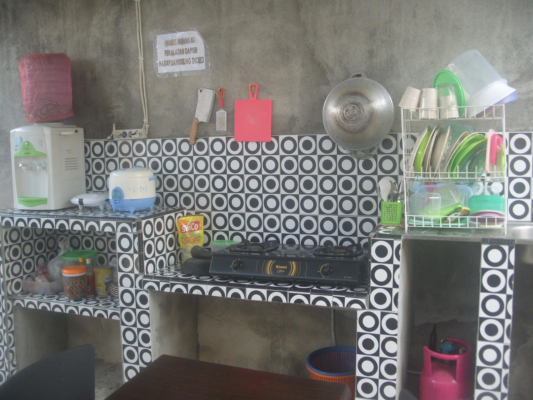 Private Transit Room With AC And Warung Kopi