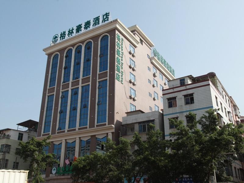 GreenTree Inn Guangdong Huizhou Chenjiang Intercity Rail Station Business Hotel