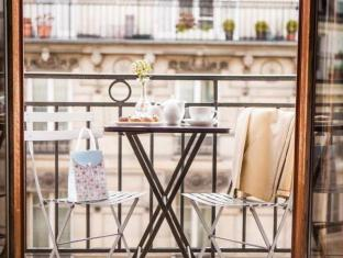 Hotel Europe Saint Severin Paris - Balcony/Terrace