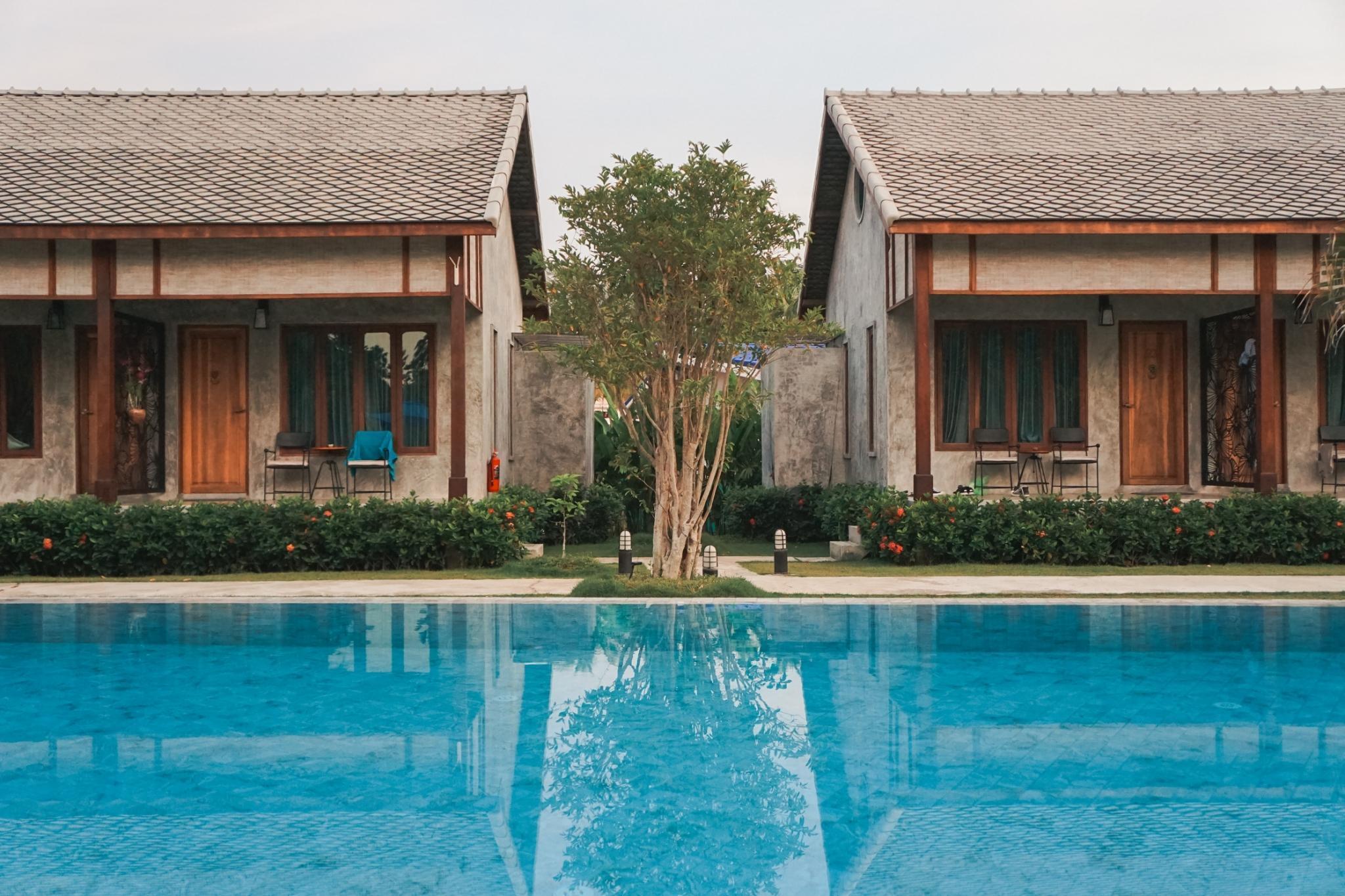 #IV Pool Luxury Villa Fleur, a romantic haven, BF บังกะโล 1 ห้องนอน 1 ห้องน้ำส่วนตัว ขนาด 40 ตร.ม. – หาดคลองดาว/หาดพระแอ