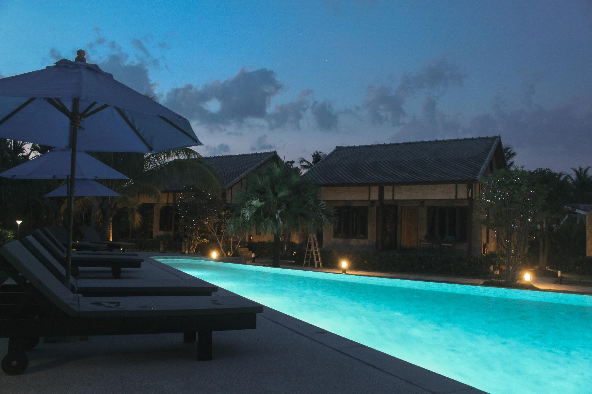 #I Pool LuxuryVillaFleur, a romantic haven, BF บังกะโล 1 ห้องนอน 1 ห้องน้ำส่วนตัว ขนาด 35 ตร.ม. – หาดคลองดาว/หาดพระแอ