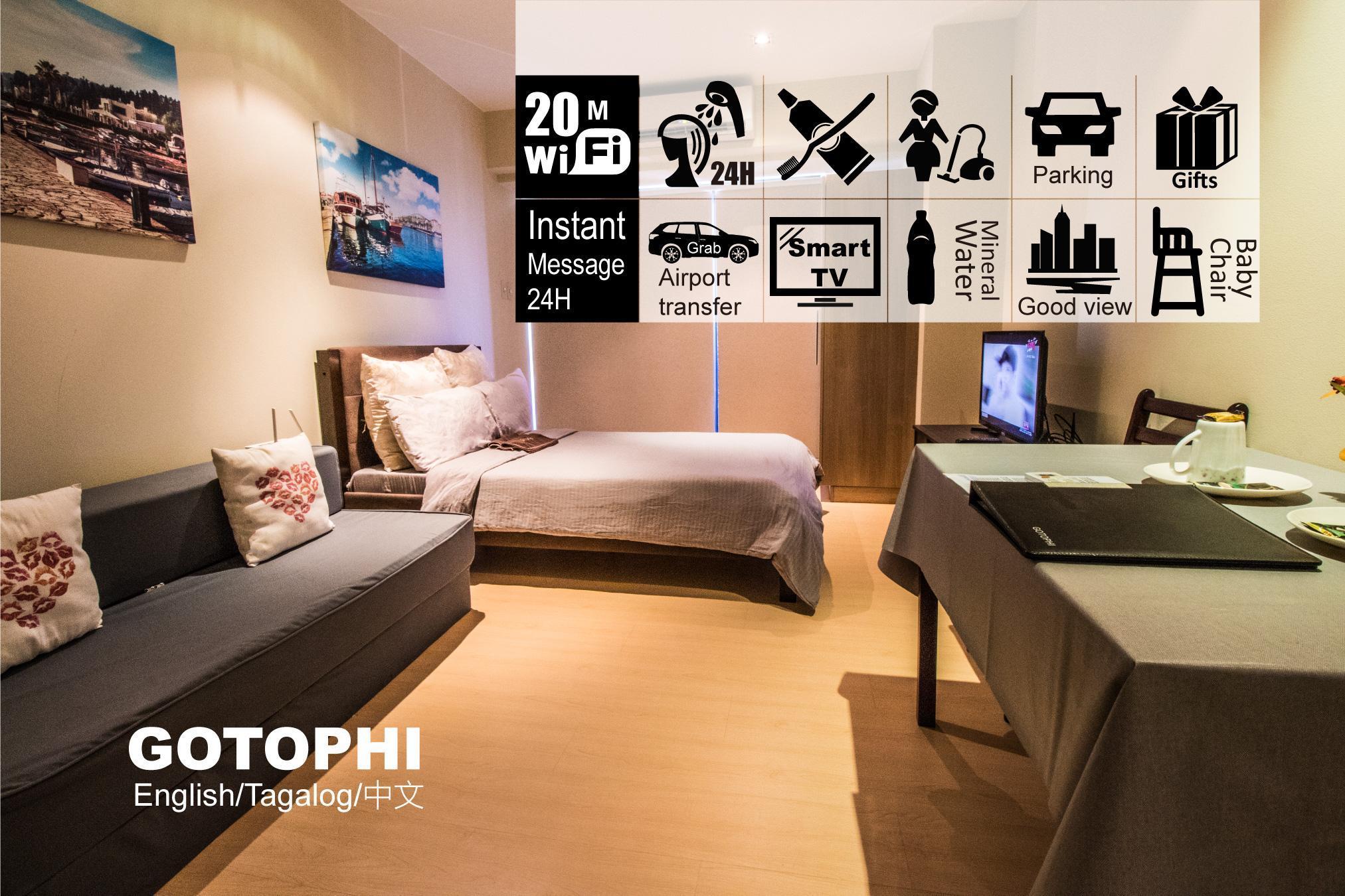 Gotophi luxurious hotel Knightsbridge Makati 5416