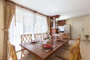 [チャアム ビーチフロント]ヴィラ(250m2)| 4ベッドルーム/4バスルーム Baan Talay Samran 4Bedrooms Beach Villa w  3pools