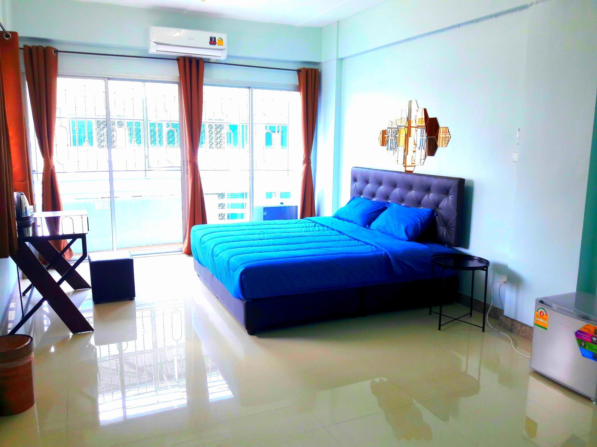 U&D guest house อพาร์ตเมนต์ 1 ห้องนอน 1 ห้องน้ำส่วนตัว ขนาด 25 ตร.ม. – ริมแม่น้ำกรุงเทพ