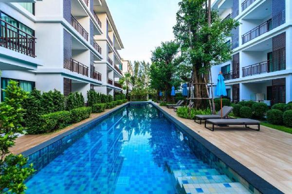 The Title Resort F101A - Direct pool access 2 BR Phuket