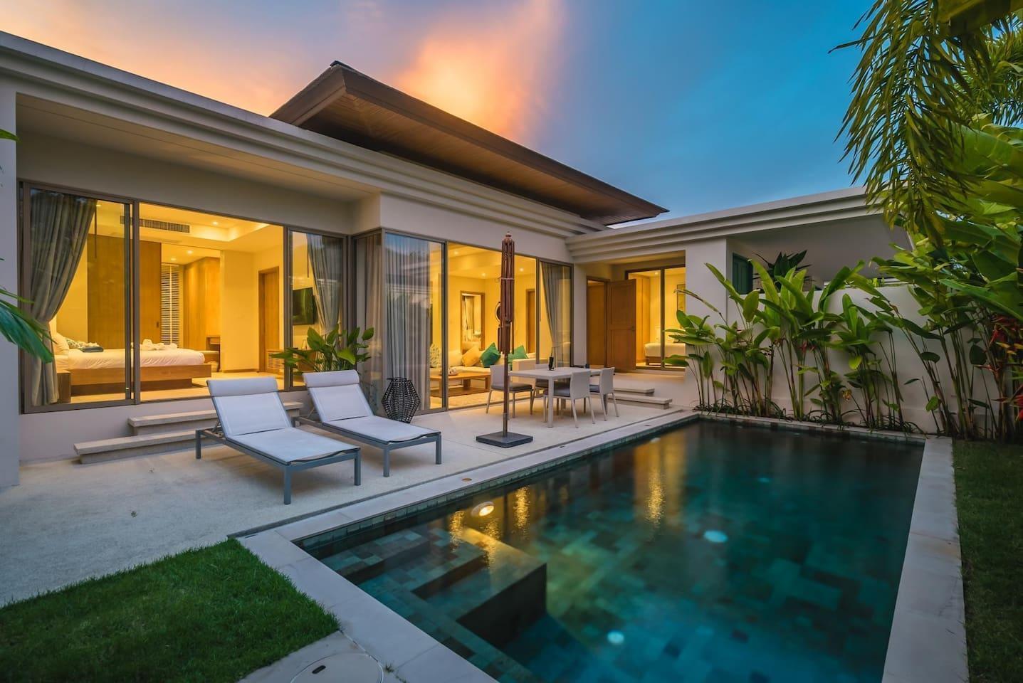 Trichada 18   Private Pool Modern 3 Bedroom Villa